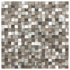 Contemporary Mosaic Tile by Eden Mosaic Tile