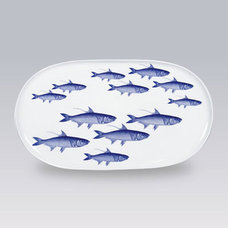 Contemporary Serving Dishes And Platters by Gracious Style