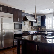 Modern Kitchen Cabinetry by Scandia Kitchens Inc.