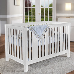 "PALI - Imperia 4-in-1 Convertible Crib - Transform your average nursery into a warm, inviting place to care for baby with Pali's Imperia crib. Classic Italian style, solid rubber wood construction and beautiful finish make this lovely bed work for all ages. Additionally, you can convert your full size crib into a toddler bed and a child's day bed then finally a full-size bed using the optional toddler rail kit and full bed conversion rails. Feel good about putting baby down to sleep in this sturdy, masterly-crafted crib. It features a two-position orthopedic mattress support to help nurture baby's developing spine and cut-outs on the side panel posts ensure that crib bedding can be properly tied down to eliminate the threat of jumbled sheets. This crib complements many Pali dressers such as Novara, Volterra, Salerno and Trieste among others. Features: -Imperia collection. -Finish: White. -Classic Italian style, solid rubber wood construction and beautiful antique finish makes this lovely bed work for all ages. -3 position orthopedic mattress support made of solid wood gives a baby's delicate spine ideal support for correct posture. -Full size crib easily converts to toddler bed, child's day bed and full size bed. -Meets and exceeds all crib standards required by CPSC. -Protect wood and is completely kid safe and eco-friendly. -JPMA Certified. -1 Year warranty. Dimensions: -Crib: 35"" H x 54"" W x 30"" D, 60 lbs. -Rails: 5.91"" H x 75.31"" W x 2.2"" D, 39 lbs."