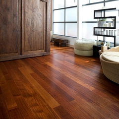 contemporary wood flooring Junckers Jatoba Wide Boards