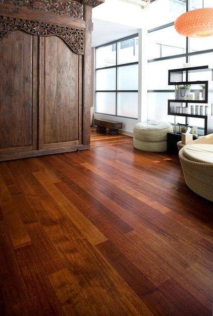 Contemporary Hardwood Flooring Junckers Jatoba Wide Boards