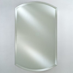 Afina Double Arch Recessed Medicine Cabinet - 20W x 32H in. - The Afina Double Arch Recessed ...