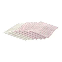 Laurent Doll - Laurent Doll Pink Stripe Linen Set for Doll Triple Bunk Bed - LDTB-PNK-02 - Shop for Dolls Clothes and Accessories from Hayneedle.com! Three dolls will be able to snuggle in nice and cozy with the Laurent Doll Pink Stripe Linen Set for Doll Triple Bunk Bed. Beautifully crafted from 100% cotton this set features a simple yet elegant pink stripe print on the top and a solid white back. Three 100% cotton pillow cases three comforters and three mattress covers are also included.About Laurent DollLaurent Doll was started in 2009 by Kathy Cahill and her son Scott and founded on the principal of creating high quality design and manufacturing to fit a wide range of 18-inch dolls. Crafted from quality hardwoods Laurent Doll offers an exceptional collection of doll furniture linens and accessories.