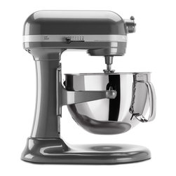 KitchenAid - KitchenAid RKP26M1XPM Pearl Metallic 6-quart Pro 600 Bowl-Lift Stand Mixer (Refu - Featuring a professional-level 575-watt motor with ten speeds, this powerful KitchenAid Pro 600 stand mixer can easily mix a batch of up to 14 cups of flour. It comes with a six-quart stainless steel bowl and a bowl-lift design for extra convenience.