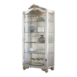 American Drew - American Drew Jessica McClintock Couture Curio Cabinet - American Drew - Curio Cabinets - 908855 - Features: