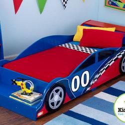 KidKraft - Racecar Toddler Bed - Racecar Toddler Bed