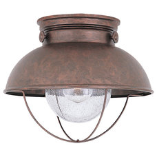 Transitional Outdoor Flush-mount Ceiling Lighting by Littman Bros Lighting