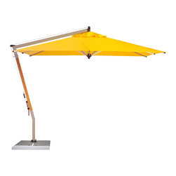ShadeScapes - Picollo Cantilever Umbrella - With state of the art 360-rotation and side-to-side tilt function, the Picollo cantilever is one of the most versatile shades in the market today.