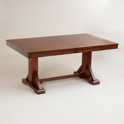 Mahogany Verona Trestle Table -