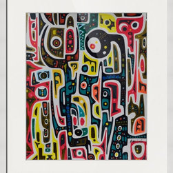Kourosh Amini - Original Art Works By Kourosh Amini, Crysalis - Artist: Kourosh Amini