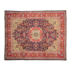1800-Get-A-Rug - Old Persian Tabriz Hand Knotted Rug Mint Condition Sh12476 - About Antique & Semi Antique