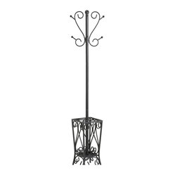 Brighton Coat Rack and Umbrella Stand