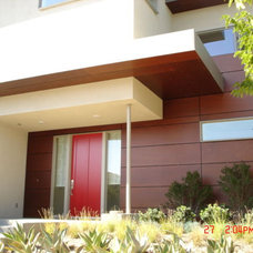 Contemporary Exterior by J Walsh Construction, Inc