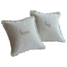 Traditional Pillows by Taylor Linens