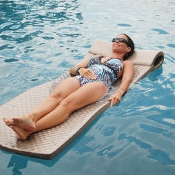 TRC Recreation - Super-Soft Pool Float - Features: -Pool Float. -Everlasting pool float. -Full roll pillow designed for extra buoyancy in the head area. -Vinyl coated. -Easy to clean.