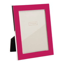 "Origin Crafts - Addison ross bright pink picture frame - Addison Ross Bright Pink Picture Frame Silver Plated Enamel. Dimensions (in): Holds 4"" x6"" photograph Holds 5"" x7"" photograph By Addison Ross. - Based in the U.K., Addison Ross designs and manufactures beautiful frame collections in Enamel, Silver Plate, Diamante, and Marquetry photograph frames."