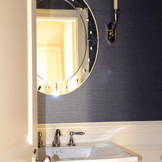 Eclectic Bathroom by d2 interieurs