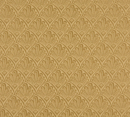 Gold Two Toned Fan Upholstery Fabric By The Yard - P2811 is great for residential, and commercial applications. This fabric will exceed at least 35,000 double rubs (15,000 is considered heavy duty), and is easy to clean and maintain.