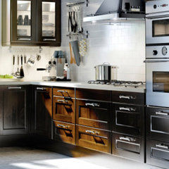 modern kitchen cabinets by Betternest