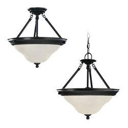 Sea Gull Lighting - Sea Gull Lighting 69562BLE Sussex 3 Light Energy Star Outdoor Pendant - Specifications: