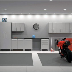 Contemporary Garage & Tool Storage: Find Garage Cabinets, Workbenches and Pegboard Online