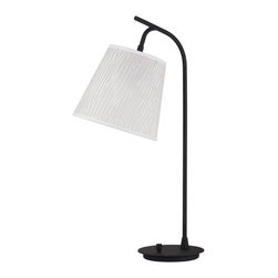 Lights Up! - Walker Table Lamp - Clear Optical - - Wattage: 100