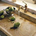 Antique Kitchen Stone Sinks - Images by 'Ancient Surfaces'