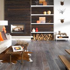 Mediterranean Hardwood Flooring by CheaperFloors