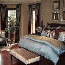 Eclectic Bedroom by Sweetlake Interior Design LLC