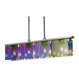 Tropical Beach Prism Island 4 Light Pendant Chandelier 3174-13 - ORDER ON HOUZZ TODAY AT LEE LIGHTING.