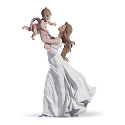 """Lladro Porcelain - Lladro My Little Sweetie Figurine - Plus One Year Accidental Breakage Replacemen - """"Hand Made In Valencia Spain - Sculpted By: Juan Carlos Ferri Herrero - Included with this sculpture is replacement insurance against accidental breakage. The replacement insurance is valid for one year from the date of purchase and covers 100% of the cost to replace this sculpture (shipping not included). However once the sculpture retires or is no longer being made, the breakage coverage ends as the piece can no longer be replaced. """""""