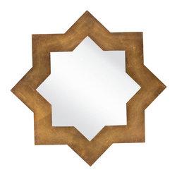 Surya Moroccan Star Wall Mirror - Surya Moroccan Star Wall Mirror
