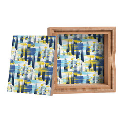 DENY Designs - Zoe Wodarz Indigo Ikat Storage Box - Love yourself a knickknack or two (or three)? Well, then this is the box for you! The Amber Bamboo wooden Storage Box is available in two sizes with a printed exterior lid and interior bottom. So, you can still be a collector of sorts, but now you've got an organized home for it all. 100% sustainable, eco-friendly flat grain amber bamboo wood box with printed glossy exterior lid and interior bottom. Custom made in the USA for every order.