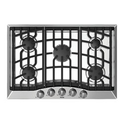 """Viking 3 Series 30"""" Gas Cooktop, Stainless Steel Liquid Propane 