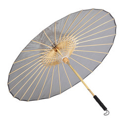 BRELLI - Grey Umbrella, Small - Protect yourself from rain, wind and of course, sun with the Sun Umbrella by Brelli. It provides you with ultimate sun, rain and transparent shade protection. Featuring 2 settings, high and low, you can stroll about blocking 99-percent UV, UVB and UVX rays or brave the rain and winds up to 40 miles per hour.