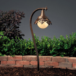 Kichler Lighting - Kichler Lighting 15369TZT Vintage Park 1 Light Pathway Lighting in Textured Tann - This 1 light Landscape 12V Path & Spread from the Vintage Park collection by Kichler will enhance your home with a perfect mix of form and function. The features include a Textured Tannery Bronze finish applied by experts. This item qualifies for free shipping!