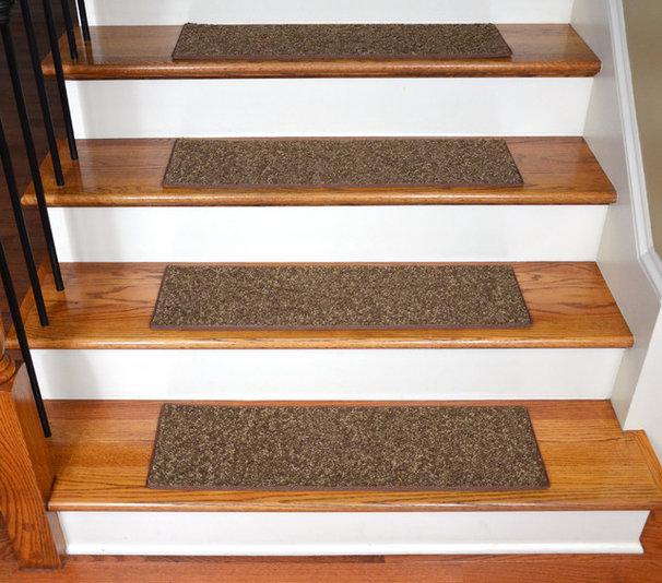 Contemporary Stair Tread Rugs by Dean Flooring Company, LLC