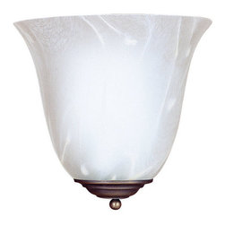 Sea Gull Lighting - Sea Gull Lighting 4108 Decorative Wall Sconce 1 Light Wall Sconce - Features: