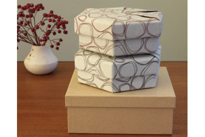 modern storage boxes by Modern-twist