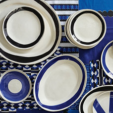 contemporary plates by Serena & Lily