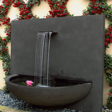 modern outdoor fountains by Neiman Marcus