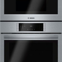 "Bosch - 800 Series HBL8751UC 30"" Electric Speed Combination Oven with 4.6 cu. ft. Capaci - The 800 series 30 speed combination oven from Bosch will make an excellent addition to any kitchen setting This combination oven features a wall oven with a SmoothClose door Thanks to the dampened hinges the door is able to softly and quietly shut Th..."