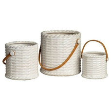 Contemporary Baskets by Clayton Gray Home