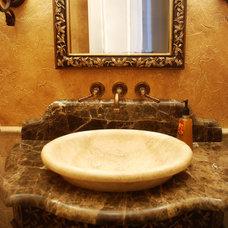 Mediterranean Bathroom by Architectural Justice