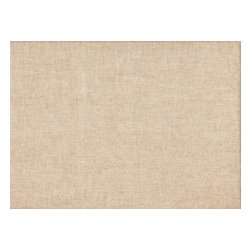 """Close to Custom Linens - 84"""" Shower Curtain, Lined, Linen Beige Solid - Linen is a neutral solid beige linen-textured fabric. The fabric is soft, medium weight and has great texture. Reinforced button holes for 12 curtain rings."""
