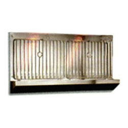 Vent-A-Hood - Vent-A-Hood 36W in. Warming Shelf Assembly for Range Hoods Multicolor - WS036 SS - Shop for Hoods and Accessories from Hayneedle.com! The Vent-A-Hood 36W in. Warming Shelf Assembly is an ideal addition to your brand new Vent-A-Hood kitchen blower. Let your ventilation system do double duty with the sturdy set of shelves. Each shelf measures 10 inches deep by 14 inches wide and is made from sturdy stainless steel with a rack style design. The shelves comes with a 3.5inch deep ledge and a 15inch backsplash. A fold-down design keeps the shelves out of your way until needed. Let your hot dishes settle and cool up and out of the way or use the excess heat siphoned from the oven and stove to keep the food hot while you're finishing cooking.About Vent-A-Hood For over 75 years Vent-A-Hood has provided American consumers with a series of simple long-lasting kitchen products. Based in Richardson TX their kitchen hoods boast a unique proprietary design that's both easy to install and fire-safe. Family-owned since its inception in Dallas Vent-A-Hood guarantees that customer satisfaction and product performance are its focal points. The company has far outgrown its door-to-door sales days the company has expanded to reach national and international markets solid in all fifty states Canada and beyond.