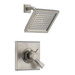 Delta - Dryden Monitor 17 Series Pressure Balance Shower Trim - Delta T17251-SS Dryden Monitor 17 Series Pressure Balance Shower Trim with Volume Control and Raincan Showerhead in Stainless.