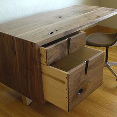 Desks by J. Rusten Furniture Studio