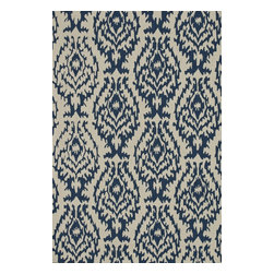 """Loloi Rugs - Hand Hooked Summerton Transitional Rug SUMRSRS13IVDE - 5'-0"""" x 7'-6"""" - Lay a new foundation to your favorite room with a hand-crafted rug from the Summerton Collection. Hand-hooked in China of 100% polyester, these spirited rugs earn notice through clean design and quality craftsmanship. And whether you re relaxing after a long day or just enjoying a lazy Sunday, the perfectly plush feel is a real treat for your feet. With shapes available in rectangles, small rounds, hearths, and runners, Summerton has a rug - or two - for any room."""